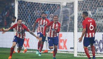 الليجا| ميسي يقود برشلونة وجريزمان في هجوم أتلتيكو مدريد