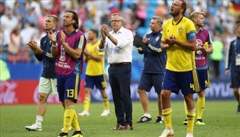 عيش المونديال  مدرب السويد يرشح إنجلترا للفوز بكأس العالم بعد الخروج من ربع النهائي