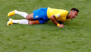 عيش المونديال  نيمار لا يريد لعب كرة القدم مجددا