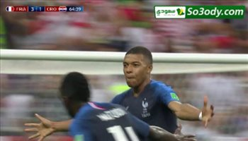 فرنسا تحرز هدفين و كرواتيا ترد بهدف في 10 دقائق ( 4 - 2 ) .. عصام الشوالي كاس العالم