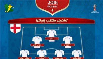 عيش المونديال| هاري كين يقود هجوم إنجلترا أمام تونس