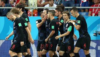 عيش المونديال  كرواتيا تواصل التألق وتحقق الفوز الثالث على آيسلندا
