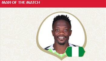 عيش المونديال  أحمد موسى رجل مباراة نيجيريا وأيسلندا
