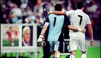 رسالة وداع مؤثرة من كاسياس بعد رحيل رونالدو عن ريال مدريد