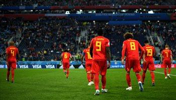 أبرز اللقطات من مباراة فرنسا وبلجيكا في نصف نهائي المونديال