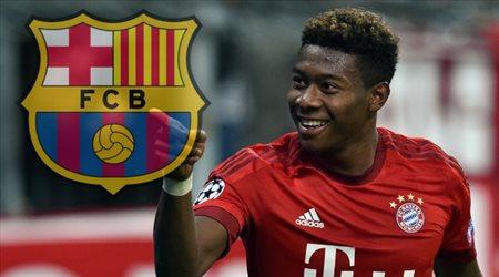 """""""ليس ريال مدريد"""".. سر """"قديم"""" ينقل ديفيد ألابا إلى برشلونة!"""