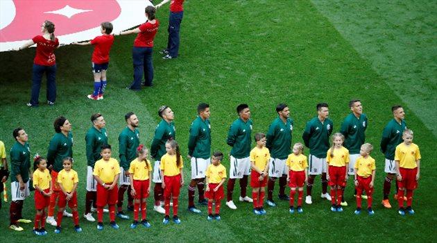 منتخب المكسيك - ألمانيا المكسيك