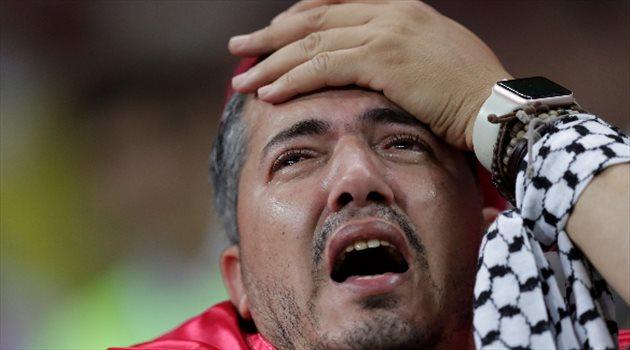 الحزن يسيطر على الجمهور التونسي بعد الخسارة من إنجلترا