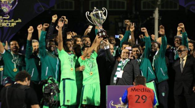 الأهلي يتوج بكأس السوبر 2016