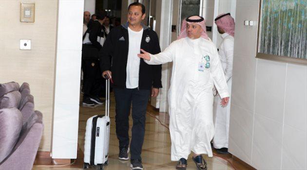 وصول بعثة فالنسيا إلى الرياض