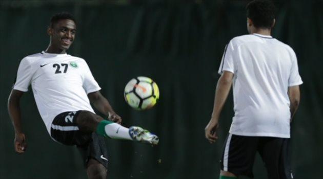 تدريبات منتخب السعودية للشباب استعدادا لمواجهة الإمارات