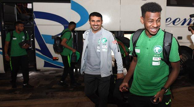 مغادرة الأخضر للسعودية متجهًا نحو ماريبا الإسبانية