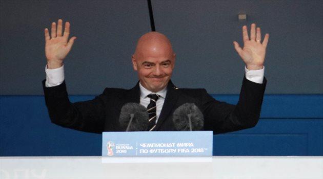 كلمة إنفانتينو في حفل افتتاح كأس العالم