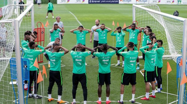 تدريبات الأخضر استعدادًا لودية الجزائر