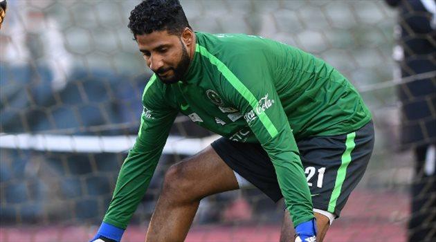 ياسر المسيليم في اختتام تدريبات منتخب السعودية لمواجهة بلجيكا
