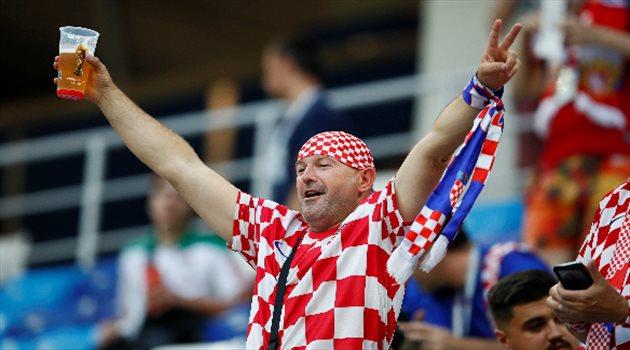 مباراة كرواتيا والدانمارك