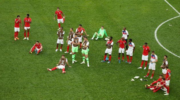 حسرة لاعبي إنجلترا بعد خسارة برونزية كأس العالم