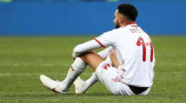 صدمة لاعبي منتخب تونس من الخسارة القاتلة أمام إنجلترا