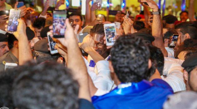 بافتيمبي جوميز يصل الرياض