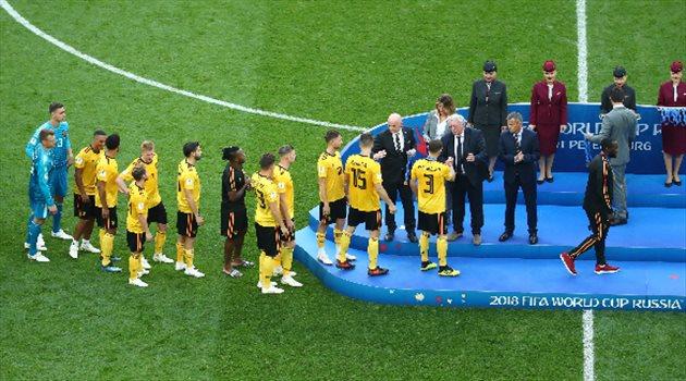 بلجيكا تفوز ببرونزية كأس العالم