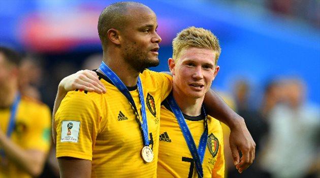 كومباني وكيفن دي بروين وبلجيكا تفوز ببرونزية كأس العالم
