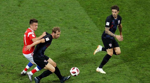 روسيا وكرواتيا
