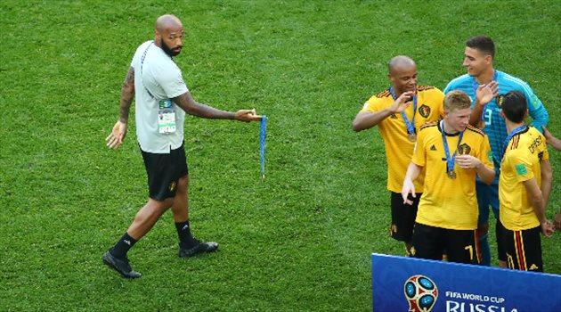 تيري هنري وبلجيكا تفوز ببرونزية كأس العالم