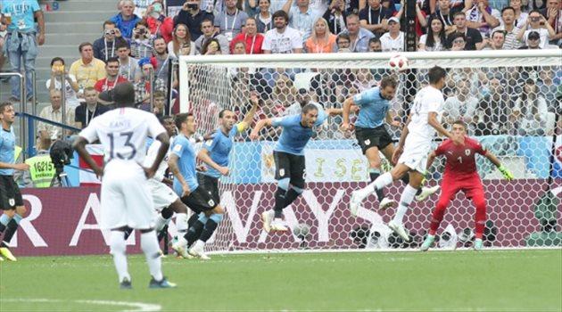 مباراة أوروجواي وفرنسا