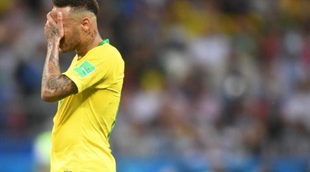 جزن نيمار على خسارة البرازيل ووداع مونديال روسيا من دور الثمانية