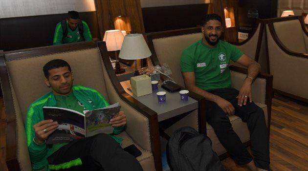 تيسير الجاسم - مغادرة الأخضر للسعودية متجهًا نحو ماريبا الإسبانية