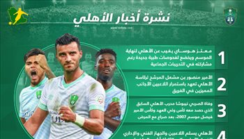 نشرة الأهلي| وفاة المهرج وبترجي يسلم اللاعبين رواتب 3 أشهر