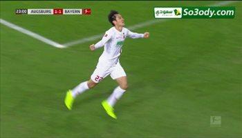 أهداف مباراة .. أوجسبورج 2 - 3 بايرن ميونخ .. الدوري الألماني