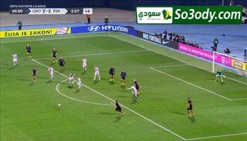 أهداف مباراة .. كرواتيا 3 - 2 اسبانيا .. دوري الامم الاوروبية
