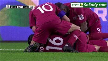 اهداف مباراة .. قطر 1 - 0 العراق .. كأس اسيا