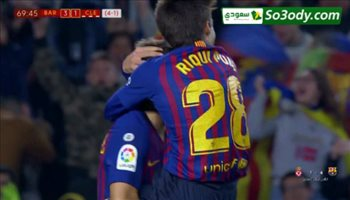 اهداف مباراة .. برشلونة4 - 1كولتورال ديبورتيفا ليونيسا .. كاس اسبانيا