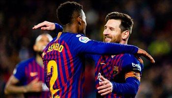 غياب ميسي وظهور أول لبواتينج مع برشلونة في كأس الملك