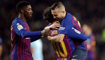 الدوري الإسباني| ميسي يقود هجوم برشلونة في مواجهة خيتافي