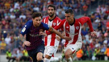 """برشلونة يسعى لتأكيد صدارته أمام بلباو """"العنيد"""" بعد استفاقة ريال مدريد"""