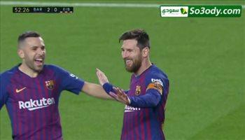 اهداف مباراة .. برشلونة  3 - 0 ايبار.. الدوري الاسباني