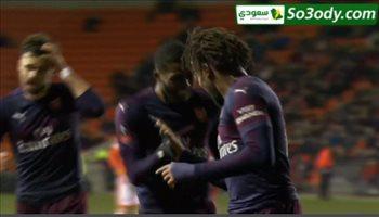 اهداف مباراة .. بلاكبول0 - 3آرسنال..  كأس الإتحاد الإنجليزي