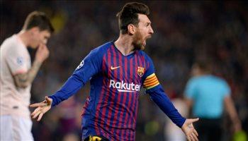 ميسي يقود هجوم برشلونة أمام ريال سوسييداد