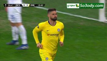 أهداف مباراة .. دينامو كييف 0 - 5 تشيلسي .. الدوري الأوروبي