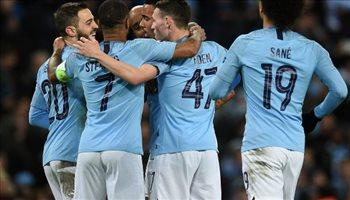 مانشستر سيتي أول فريق يسجل 7 أهداف بالأدوار الإقصائية لدوري الأبطال منذ 2015