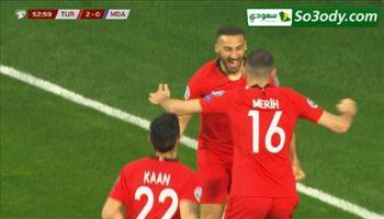 اهداف مباراة .. تركيا 4 - 0 مولدوفا ..  التصفيات المؤهلة لامم اوروبا