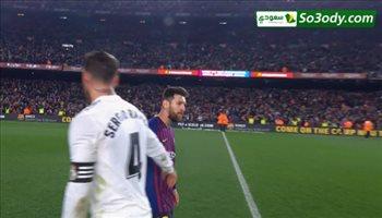 ملخص مباراة .. برشلونة 1 - 1 ريال مدريد.. كاس اسبانيا