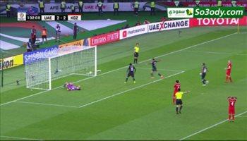 اهداف مباراة .. الامارات 3 - 2 قيرغيزستان ..  كأس الأمم الآسيوية