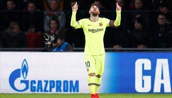 أرقام ليلة الأبطال| ميسي ينهي أسطورة رونالدو مع ريال مدريد وسقوط تاريخي لليفربول
