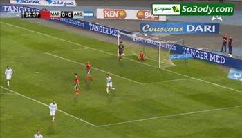 اهداف مباراة .. المغرب 0 - 1 الارجنتين .. مباراة ودية
