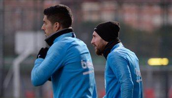رسميًا.. ميسي في قائمة برشلونة استعدادا للريال