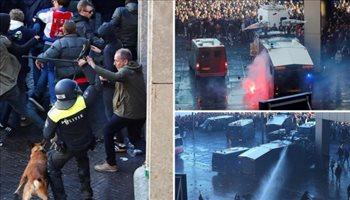 قرار صارم من الشرطة الإيطالية بعد ضبط أسحلة مع جماهير أياكس قبل مباراة يوفنتوس